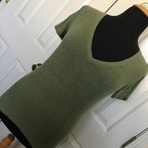 Victoria Secret PINK Olive Sleep Shirt